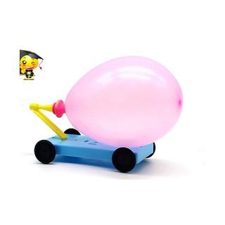 Đồ chơi khoa học – Chế tạo xe ôtô đẩy lùi bằng không khí