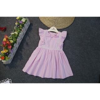 Freeship 99k toàn quốc_,Váy thô mềm cho bé gái (2 váy)