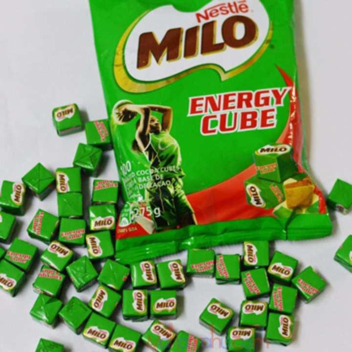 Kết quả hình ảnh cho Kẹo Milo Nestle Thái - 275g