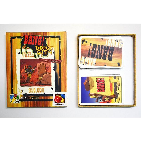 Trò chơi Board Game BG1003 Bài Bang Dodge City - Bản mở rộng Việt hoá