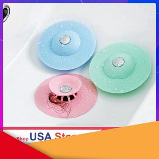 SIÊU HOT HOT Chặn Rác Bồn Rửa Bát - Bồn Rửa Mặt - Bật Mở Thông Minh - Ngăn Mùi Bồn Tắm - Nắp Cống thumbnail