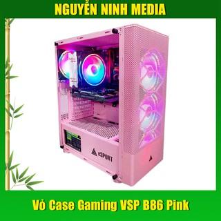 Vỏ Case Gaming VSP B86 Pink (Màu Hồng) - Hàng Chính Hãng thumbnail