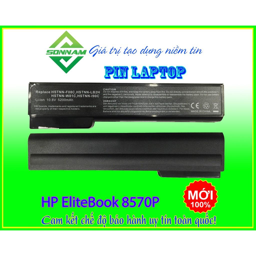 Pin Laptop HP Elitebook 8570P – Cam kết bảo hành đổi mới uy tín toàn quốc Giá chỉ 245.000₫