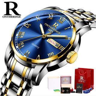 Đồng hồ nam Ontheedge RZY031 dây kim loại thumbnail