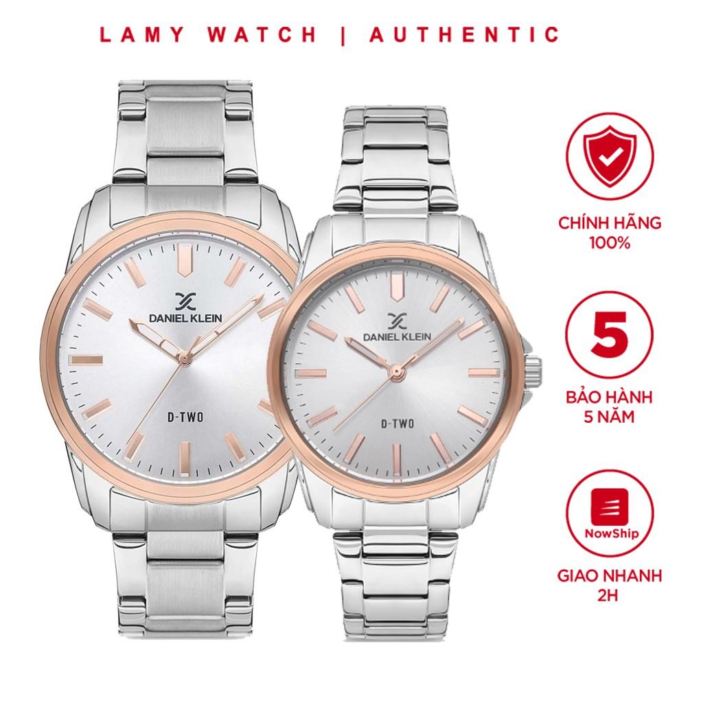Đồng hồ nam nữ Daniel Klein D-TWO Sliver- Lamy watch
