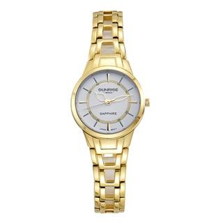 Đồng hồ nữ SUNRISE 9976SA full hộp chính hãng, kính Sapphire chống xước, chống nước