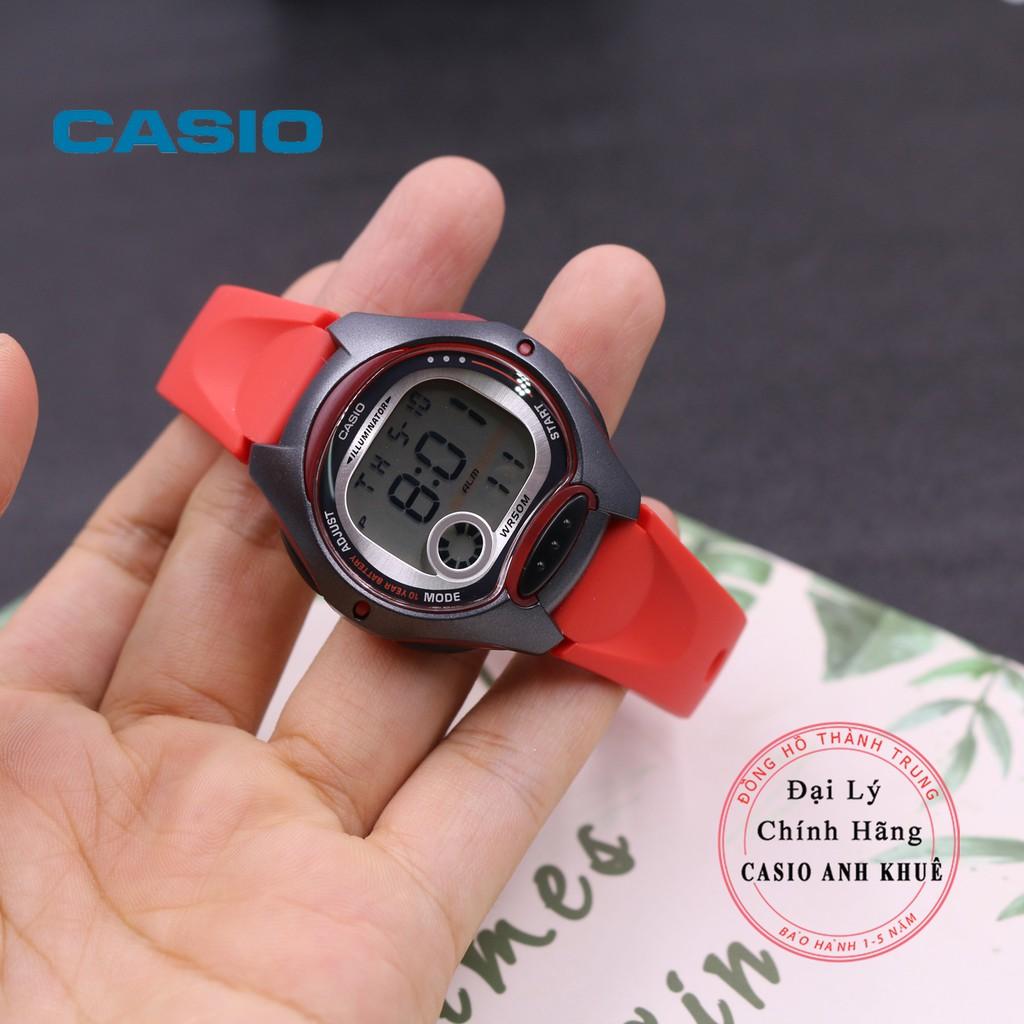 Đồng Hồ Nữ Casio LW-200 Dây Nhựa Pin 10 Năm