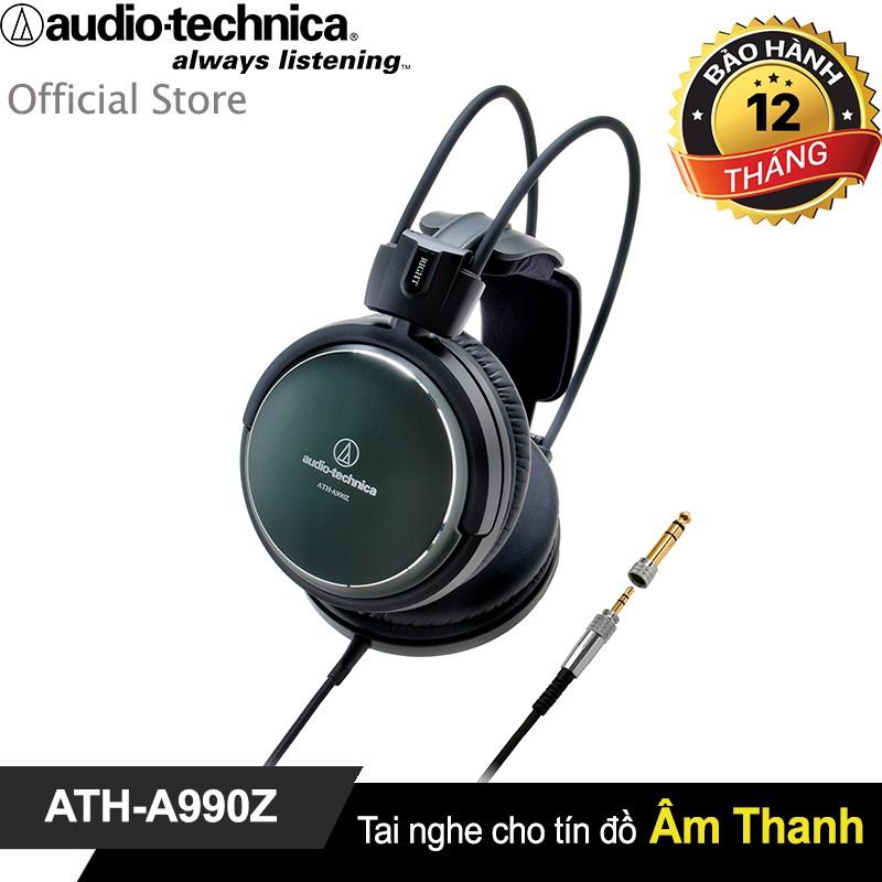Tai nghe Audio-Techncia Over-ear Art Monitor (Close back) Audiophile ATH-A990Z