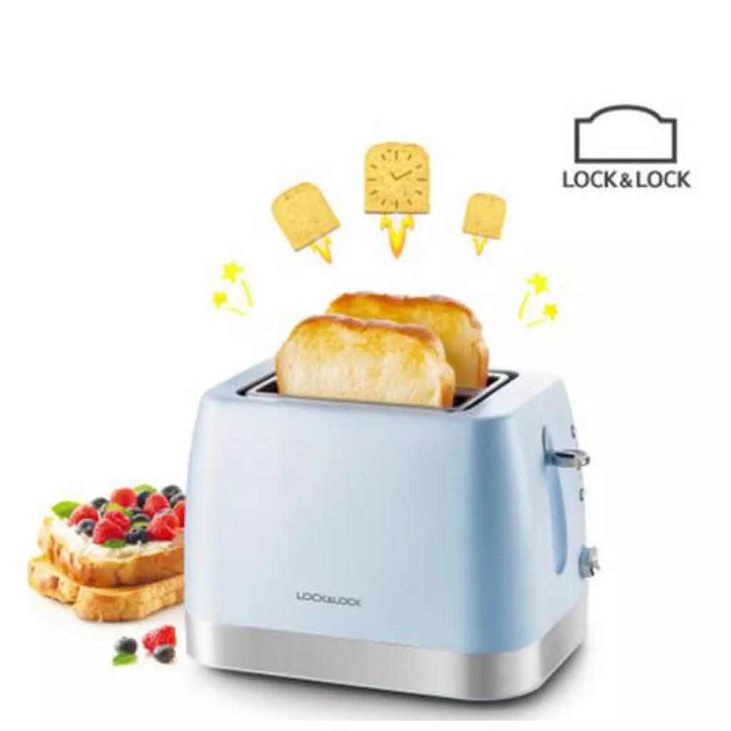 Máy Nướng Bánh Mì Lock& Lock (700W) [EJB221BLU]