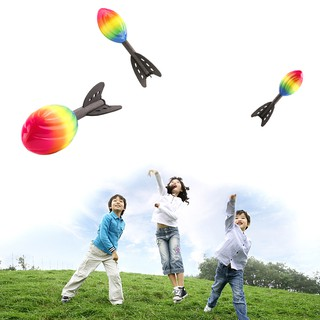New rocket flying toy to improve children's outdoor sports ability