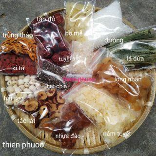 """Set chè dưỡng nhan 13 món nấu 10 chai 330ml giá chỉ còn <strong class=""""price"""">5.900.000.000đ</strong>"""