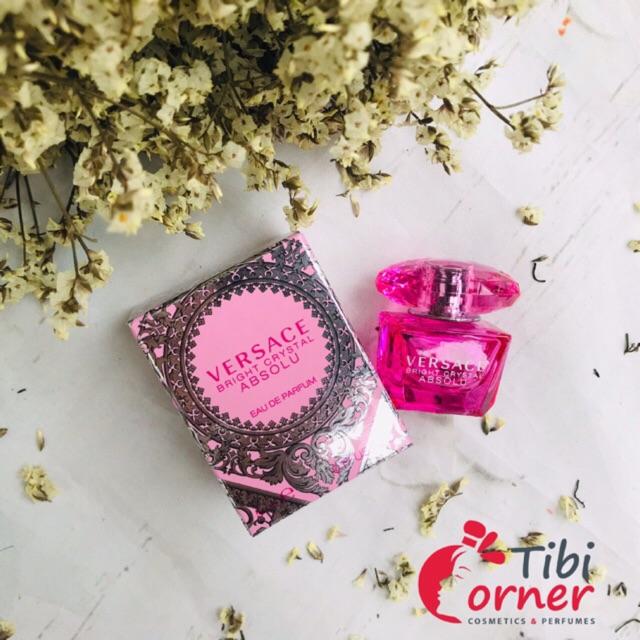 Nữ Chính For Crystal Absolu Hoa Women Nước Bright Versace Hãng Mini pVqUSzM