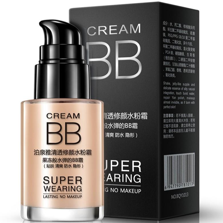 Kem Nền BB Cream Super Wearing Của Bioaqua Hàng Nội Địa Trung