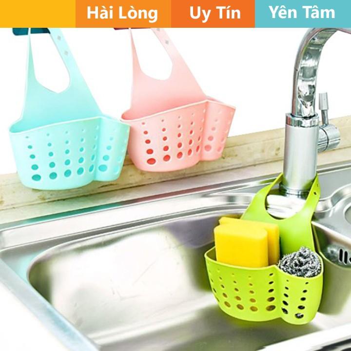 Giỏ nhựa dẻo đựng đồ ở bồn rửa bát tiện dụng  - thiết bị gia dụng tiện lợi Giỏ nhựa dẻo đựng đồ ở bồn rửa bát tiện dụng mã GX247