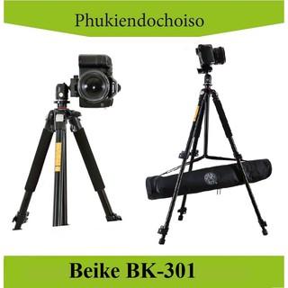 [Mã 159ELSALE hoàn 7% đơn 300K] Chân máy ảnh BEIKE BK-301 (China) . Tặng Da cừu - Da thật thumbnail