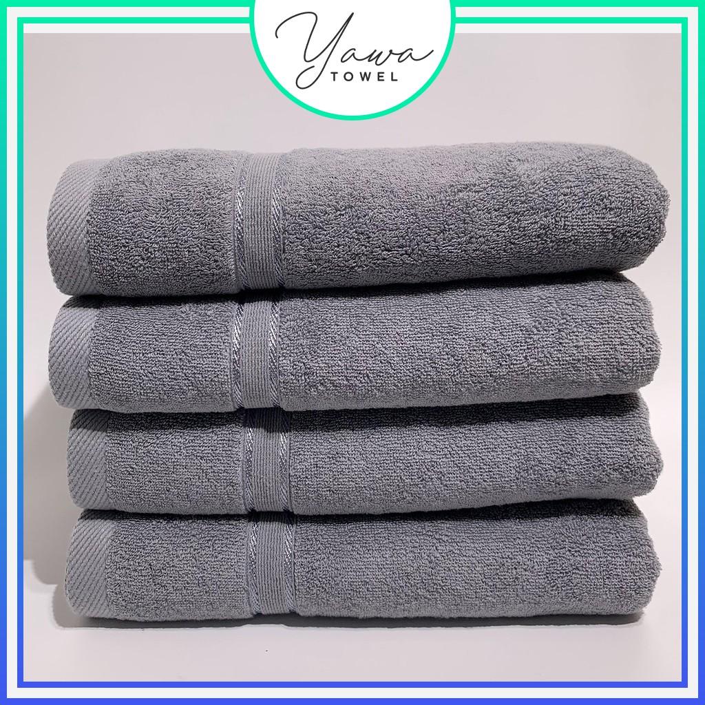 Khăn tắm Yawa 70x140cm với sợi bông cotton dày thấm hút tốt, không dổ lông, không ra màu
