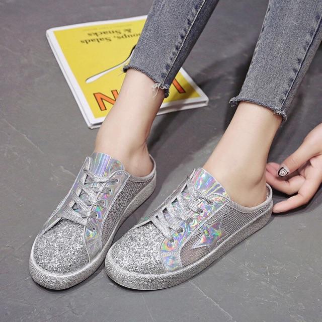 Giày nửa lưới nữ mới