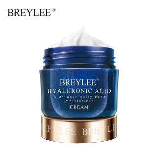 Kem Breylee 40g Chứa Tinh Chất Axit Hyaluronic Dưỡng Ẩm Làm Trắng Da 24 Giờ Chất Lượng Cao thumbnail