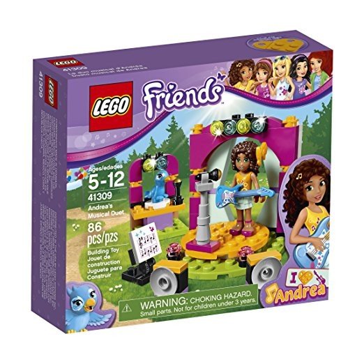 Lego Friends 41309 - Buổi ca nhạc hòa tấu của Andrea