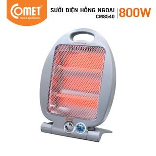 [Mã ELCOMET11 giảm 8% đơn 250K] Đèn sưởi điện hồng ngoại COMET loại 2 bóng QUARTZ 800W – CM8540