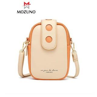 Túi Đeo Chéo Nữ Chính Hãng TAOMICMIC Phong Cách Retro Phối 2 Màu Đẹp Sang Trọng Trẻ Trung TM18 - Mozuno