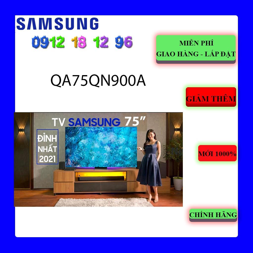 Smart Tivi Samsung QA75QN900A Neo QLED 8K 75 inch -Samsung QA75QN900AKXXV (75QN900A)