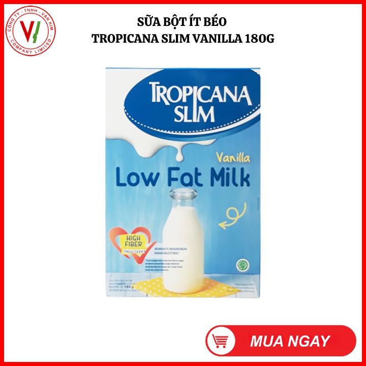 Sữa Bột Ăn Kiêng Không Đường Tropicana Slim Vanilla - Tiểu Đường/Ăn Kiêng (Date Mới)