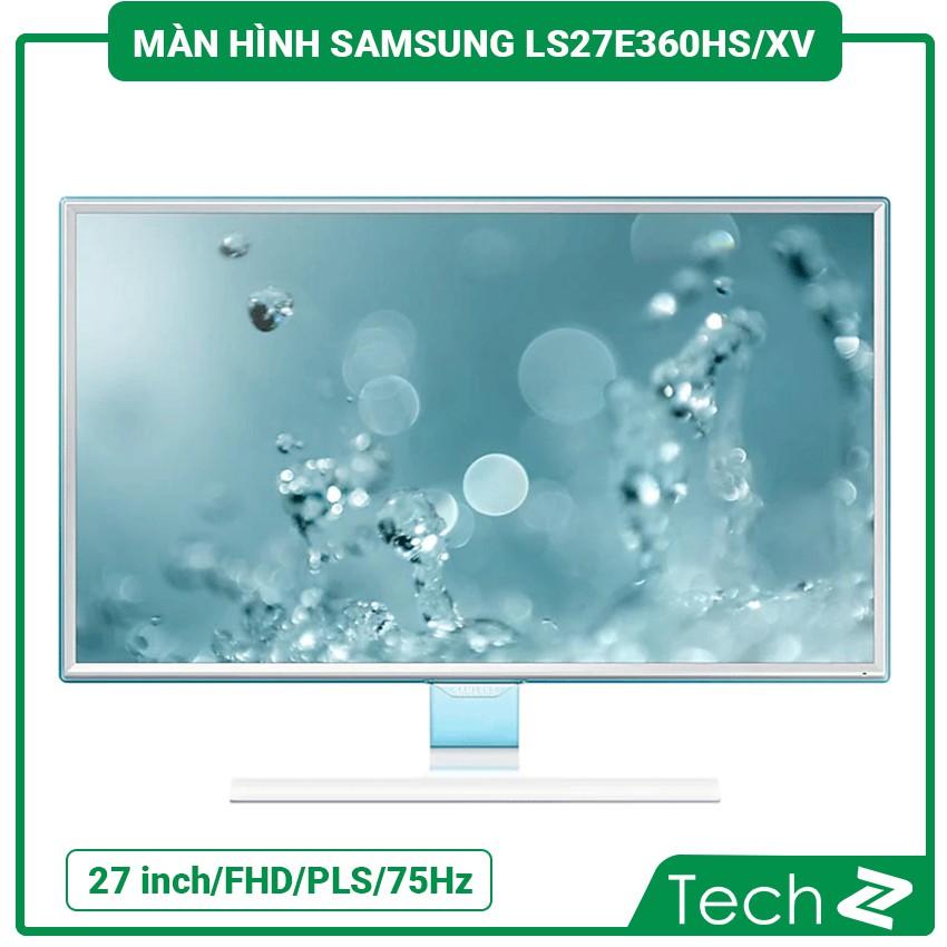 Màn Hình Samsung Ls27E360Hs/Xv (27 Inch/Fhd/Pls/300Cd/M²/D-Sub+Hdmi/75Hz/4Ms/Màu Trắng Ngọc Trai)
