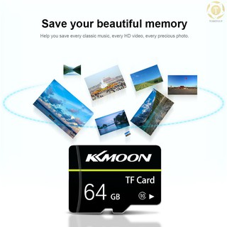 【toto】 KKmoon Micro SD Card TF Flash Memory Card Data Storage 128GB Class 10 Fast Speed(Black)