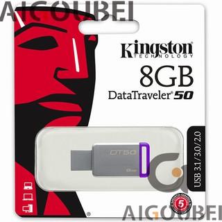[Spot & COD] Ổ đĩa flash kim loại tốc độ cao 8 Gb Ổ đĩa flash USB Dt 50 3.1