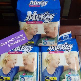 Tã dán siêu thấm người lớn Merzy ML10