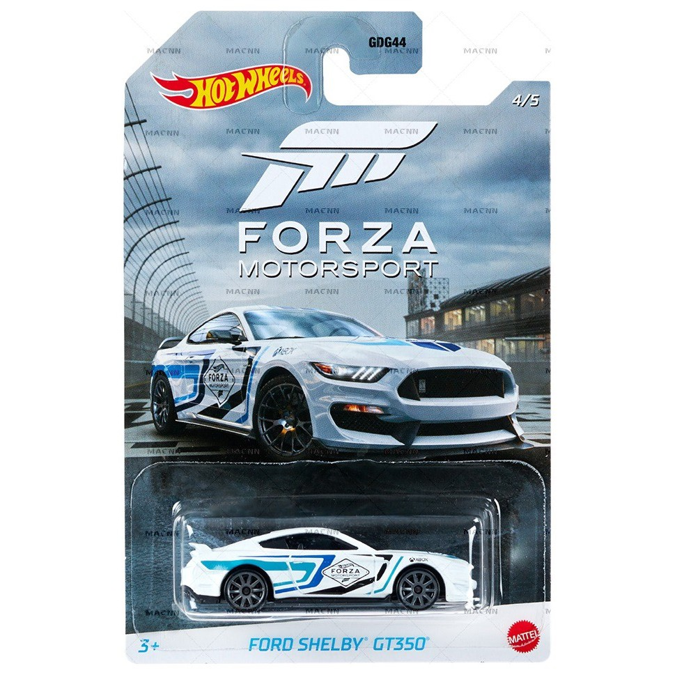 Xe mô hình Hot Wheels Forza Ford Shelby GT350R GJV70