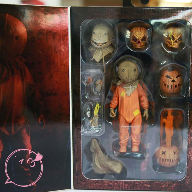 [in stock] Trick R Treat SAM Ultimate 7IN AF Halloween pumpkin movie action figure