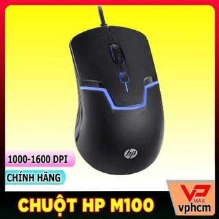 Chuột chơi game HP M100 gaming đèn led nhiều màu đầm tay
