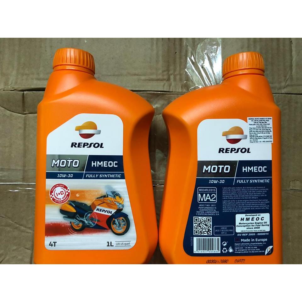 Dầu nhớt dành cho xe 4 thì Repsol Hmoec 10w30 1L - 3385871 , 1174616346 , 322_1174616346 , 360000 , Dau-nhot-danh-cho-xe-4-thi-Repsol-Hmoec-10w30-1L-322_1174616346 , shopee.vn , Dầu nhớt dành cho xe 4 thì Repsol Hmoec 10w30 1L