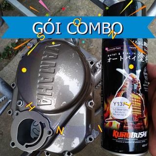 COMBO Y137 SƠN SAMURAI SƠN XỊT MÀU màu xám bạc Y137 thumbnail