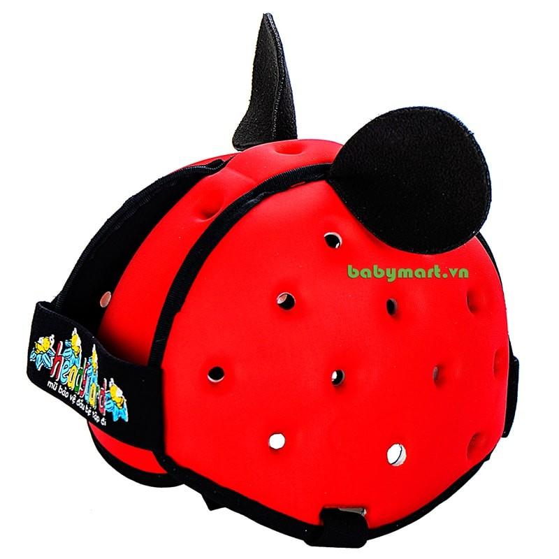Nón bảo hiểm trẻ em Headguard đỏ N040