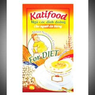 Bột ngũ cốc ăn kiêng, ngũ cốc giảm cân uống liền Katifood chính hãng 500g