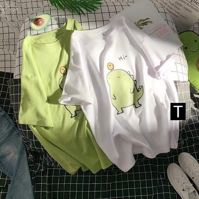 Áo phông Hi khủng long DTR0819