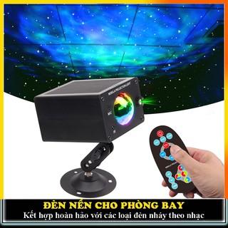 Đèn led trang trí cho phòng karaoke, đèn nền kết hợp với đèn nháy theo nhạc đèn bay phòng
