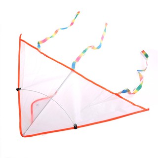 LOVEU* 1PC DIY Painting Kite Foldable Outdoor Beach Kite Children Kids Sport Toys