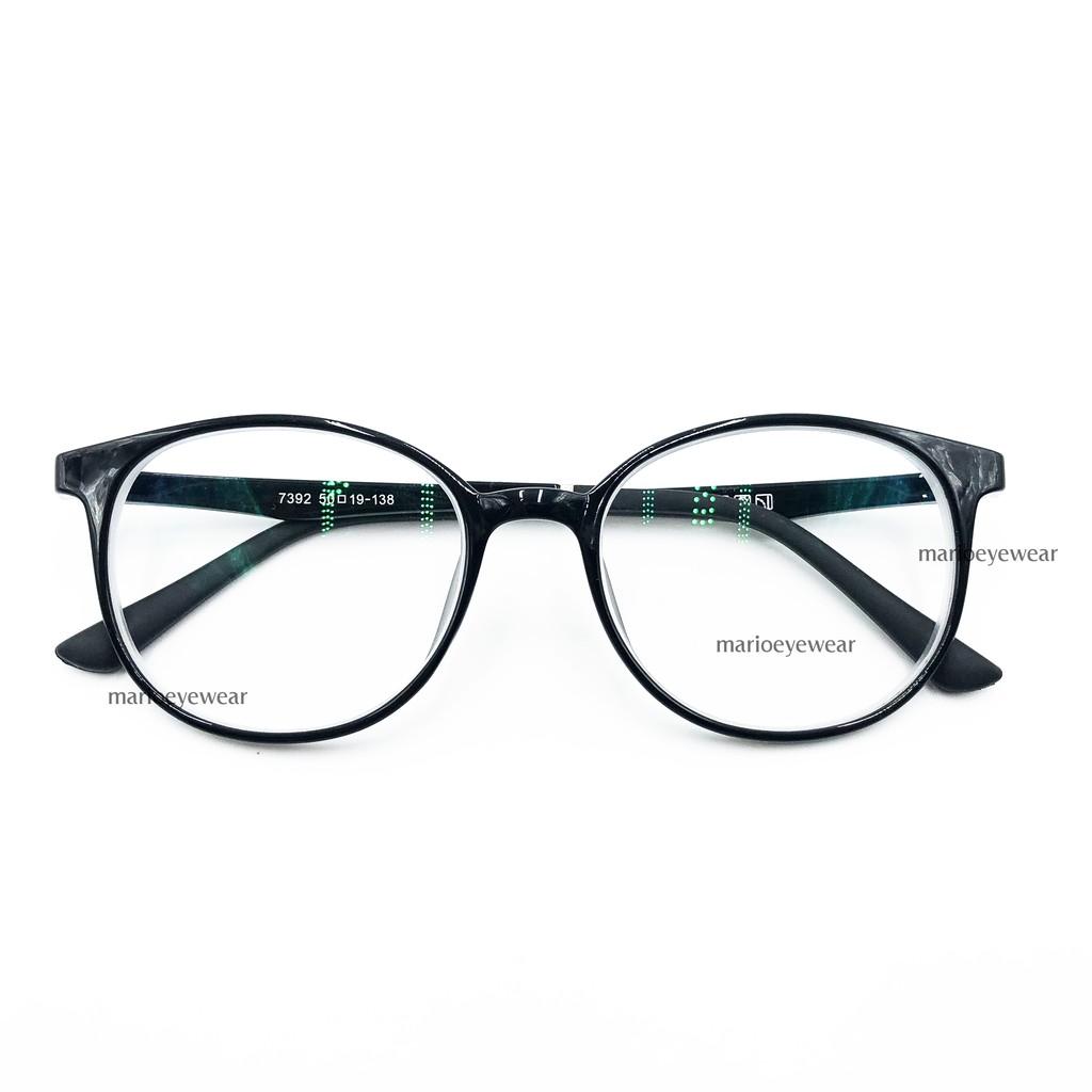 แว่นสายตาสั้น / ยาว เลนส์BLUE BLOCK กรองแสงสีฟ้าได้ พร้อมกล่องแว่น