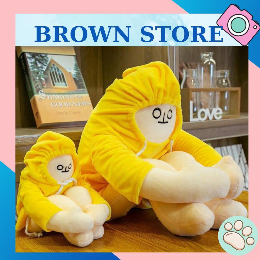 Gấu Bông Người Chuối Trầm Cảm Nhồi Bông Dễ Thương | BrownStore