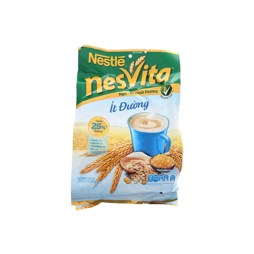 Bột ngũ cốc Nestle Nesvita ít đường bịch 16 gói x 25g - 3448779 , 954112719 , 322_954112719 , 80000 , Bot-ngu-coc-Nestle-Nesvita-it-duong-bich-16-goi-x-25g-322_954112719 , shopee.vn , Bột ngũ cốc Nestle Nesvita ít đường bịch 16 gói x 25g