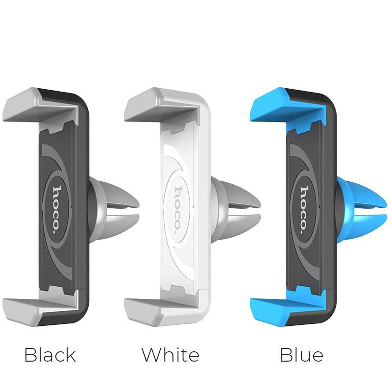 [Thoto Shop] Giá kẹp điện thoại HOCO CPH01 gắn cửa gió điều hòa trên ô tô, xoay 360 độ - Hàng chính hãng
