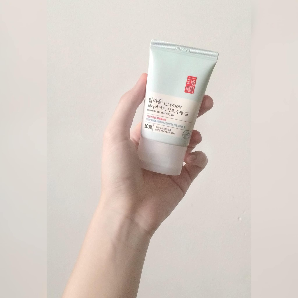 Review gel dưỡng ẩm ILLIYOON Ceramide Ato Soothing Gel