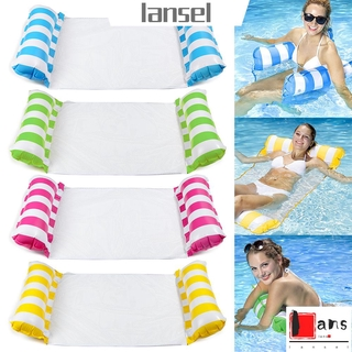 ❤LANSEL❤ Foldable Beach Sports Piscina Pool Air Mattresses PVC Inflatable Floating Row