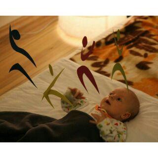 Bộ chuyển động vũ công cho trẻ 3_4 tháng tuổi