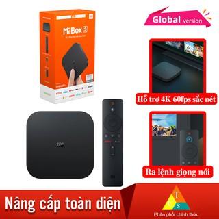 Android Tivi Box Xiaomi Mibox S 4K Bản Quốc Tế Tiếng Việt tìm kiếm giọng nói