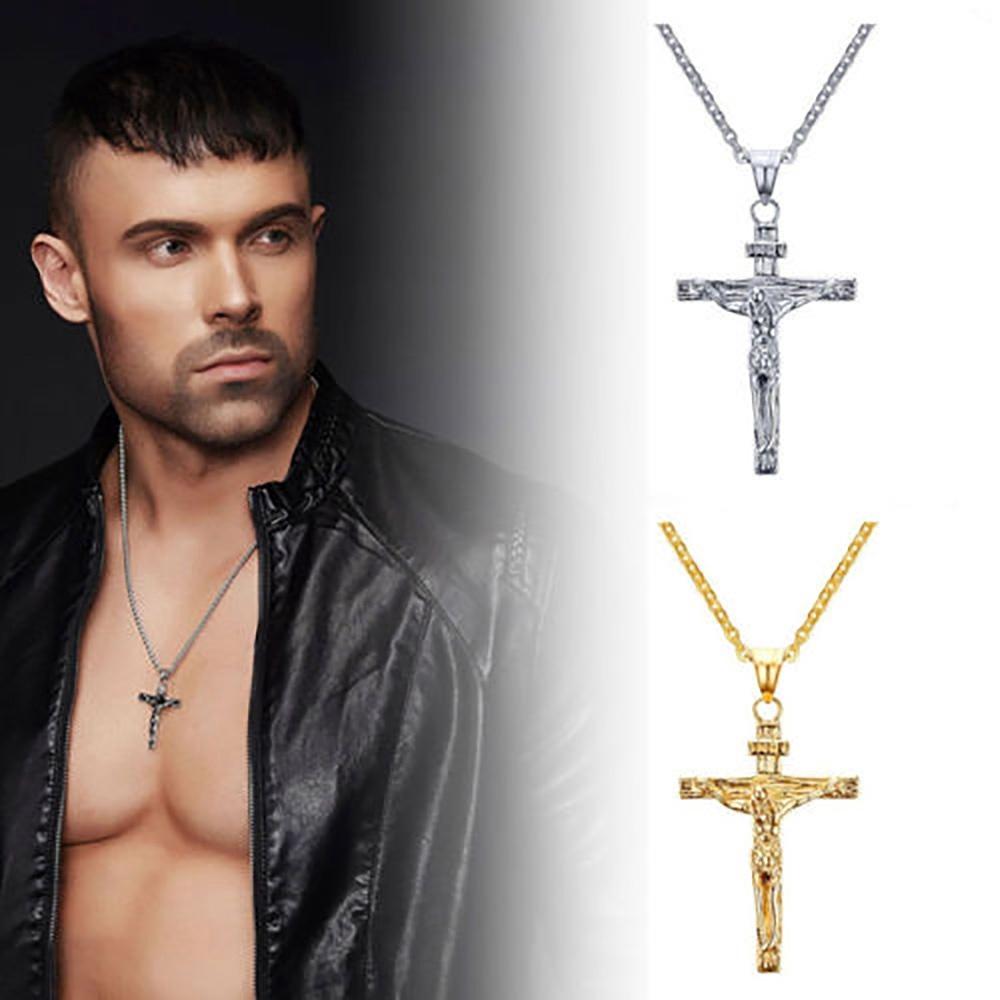 Dây chuyền hợp kim có mặt thánh giá theo phong cách Gothic độc